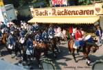 Cranger Kirmes/40746/5-august-1989-cranger-kirmes-umzug-in 5. August 1989 Cranger Kirmes-Umzug in Wanne-Eickel. Sammlung: Klaus Muhs