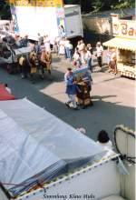 Cranger Kirmes/40748/5-august-1989-cranger-kirmes-umzug-in 5. August 1989 Cranger Kirmes-Umzug in Wanne-Eickel. Sammlung: Klaus Muhs